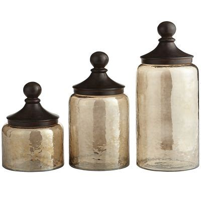 kitchen glass canisters sundarra glass canisters pier 1 imports