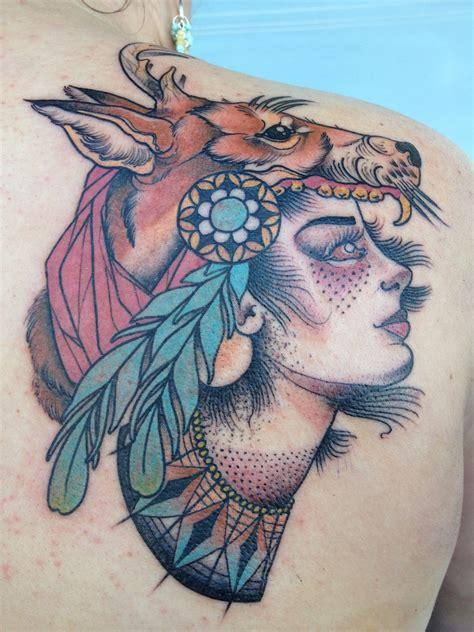 headdress tattoo designs fox headdress matt lambdin rahuno