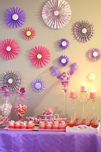 photo 1 of 8 tea birthday quot purple pink tea