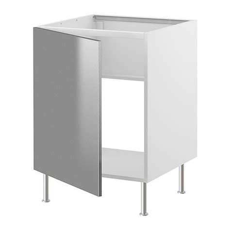 stainless steel sink base cabinet impressive ikea stainless steel cabinets 3 stainless