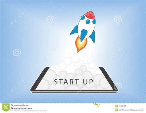 free illustration startup start up business start business start up start up business concept for mobile app