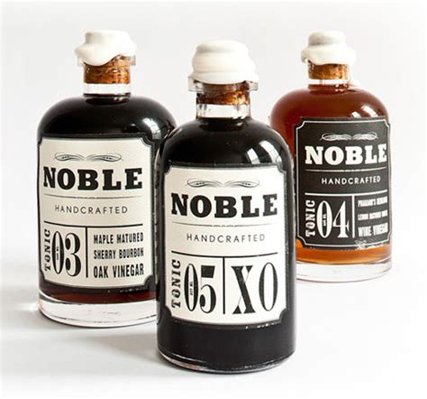 Noble Handcrafted Maple Syrup - 73 impressive food packaging designs web graphic