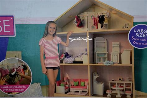 our generation doll house furniture my girl s dollhouse for american girl doll opening