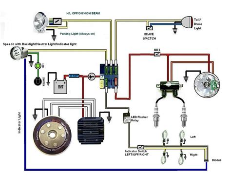 bobber wiring diagram wiring diagram