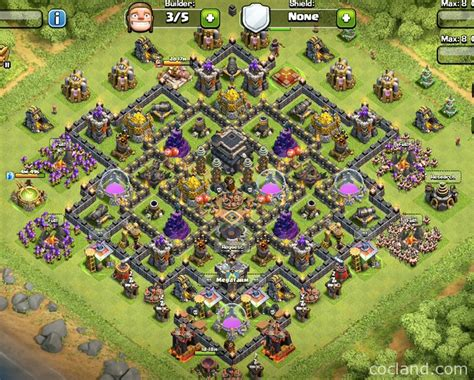 th9 layout names undefeatable town hall 9 troll base for pushing trophy