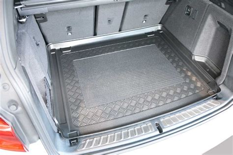 bmw x3 rubber boot mat bmw x3 2018 onwards g01 moulded boot mat from simply