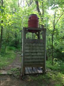 heated outdoor shower diy outdoor solar shower home design garden