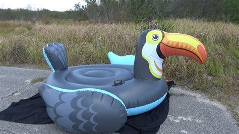 Intex Canopy Island 58292 intex mega toucan island deflation
