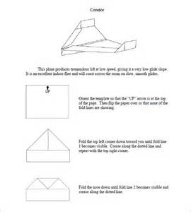 Paper Airplane Templates by Free Paper Airplane Templates
