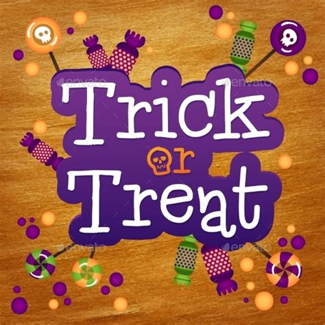 foiled trick or treat printable the happy scraps trunk or treat flyer template illustrator free 187 blobernet com