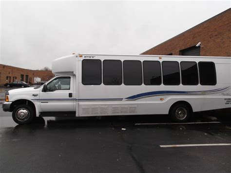 party bus outside nationwide chauffeured services alexandria va wedding