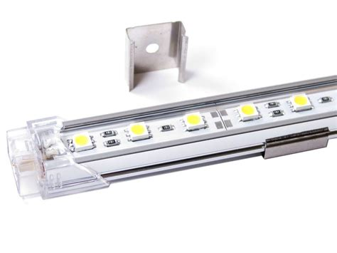 diode pære 12v bil aluskinne med led lys 50cm 12v 450 lumen dioder no