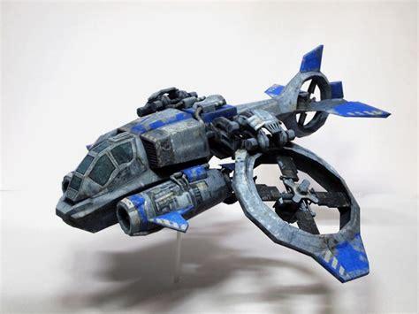 Starcraft Papercraft - starcraft 2 banshee paper craft gadgetsin