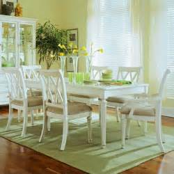 coastal dining room sets american drew camden 7 rectangular dining set in