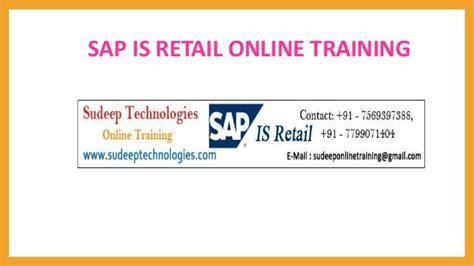 sap retail tutorial sap is retail online training in hyderabad usa uk