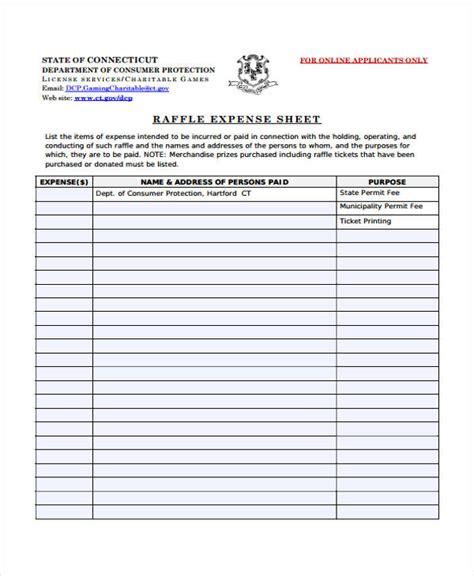 sle raffle sheet sle raffle sheet raffle ticket sheet template