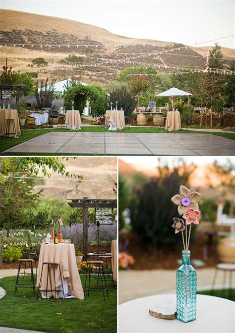 backyard dance floor rustic diy backyard wedding