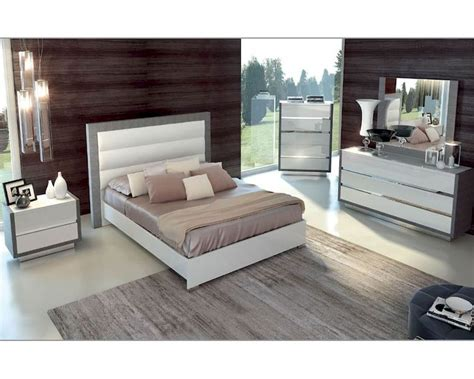 two tone bedroom furniture two tone bedroom set mangano in modern style 3313mn