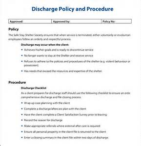 policy and procedures templates policies and procedures exle besttemplates123