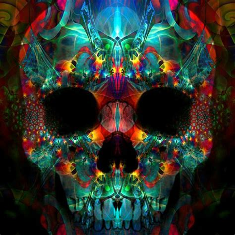 colorful skull colorful skull paintings www imgkid the image kid