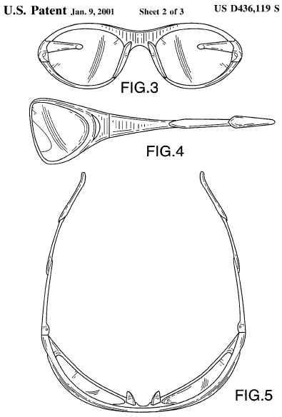 design patent meaning exle of a design patent
