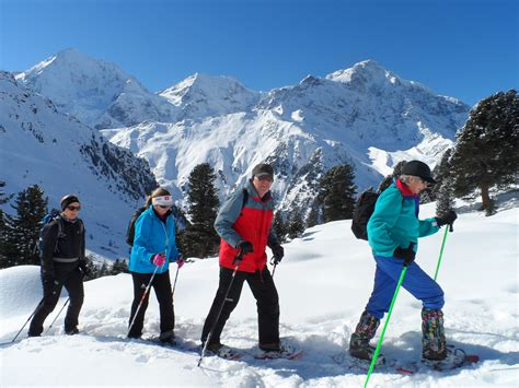 walking in a winter winter hiking winter on the glacier mountain fun wellness hotel post sulden