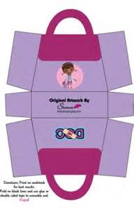 Box doc mcstuffins favor box free printable ideas from family