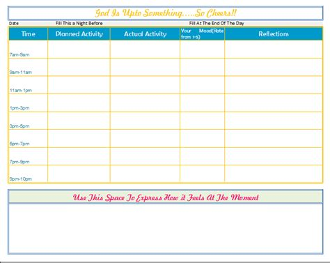 printable weekly activity planner depression recovery activity planner keeping mood journal