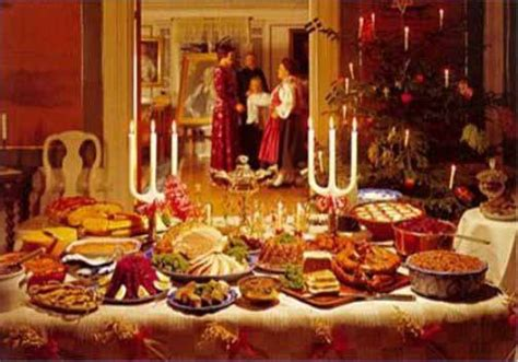 tavola imbandita per natale pranzo e cena di natale