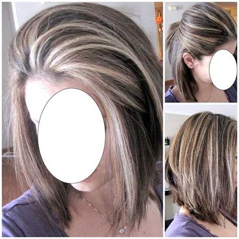 mahogany haircolr with blond highlights stcked bob haircuts 25 short haircuts and colors short hairstyles 2017