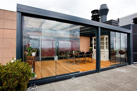 chiudere una veranda glazen schuifdeuren capdevilla terrasoverkappingen