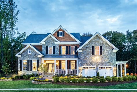 House Plans With Elevations And Floor Plans Dominion Valley Country Club Executives The Duke Home