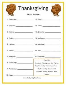 printable thanksgiving games best thanksgiving 2013 printables placemats activities