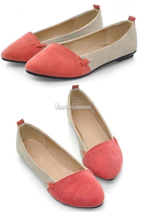 Sepatu Casual Azcost Slip On 100 Original Handmade Kulit ballet flats slip on casual shoes ballerina slipper flat loafer ebay