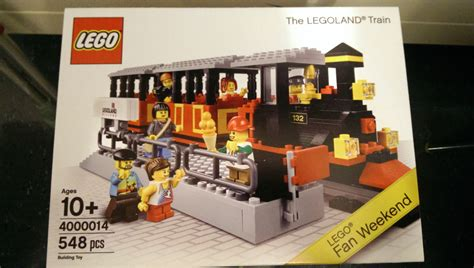 Ordinal Lego Edition Lego Logo set 4000014 the legoland lego fan weekend special