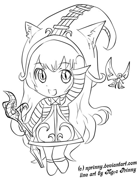 lulu template chibi lulu line by nprinny on deviantart