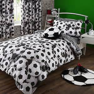 Ebay Furniture Bedroom Sets Catherine Lansfield It S A Goal Football Black White Duvet