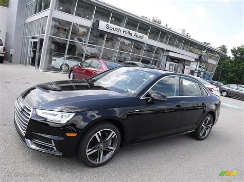 audi a4 2017 black 2017 brilliant black audi a4 2 0t premium plus quattro