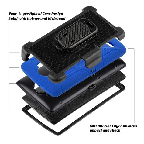 Rugged Armor Lg G4 Soft Cover Heavy Duty Xphase hybrid rugged shockproof heavy duty clip holster stand cover for lg g4 ebay