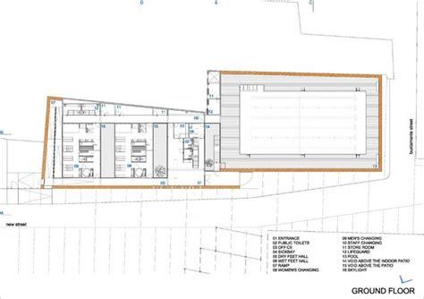 indoor plan indoor swimming pool in toro vier arquitectos pools