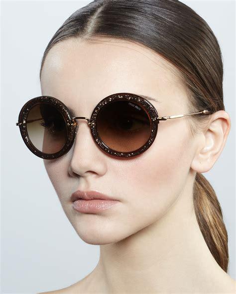 Sunglass Miu Miu Mds958 2 miu miu black noir oversized sunglasses global