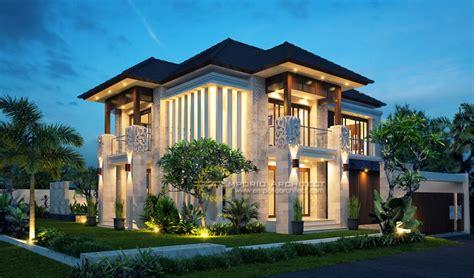 desain rumah villa tropis desain rumah style villa bali tropis yang mewah dan unik