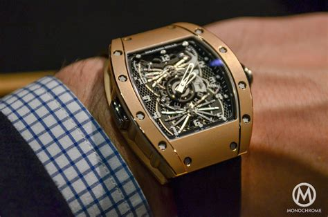 Jam Ruchard Mille 033 up with the richard mille rm 022 aerodyne dual time