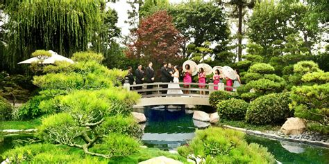 garden wedding venues in los angeles california earl burns miller japanese garden weddings