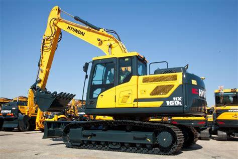 hyundai excavator specs new hyundai hx160l hx180l excavators with exclsuive all