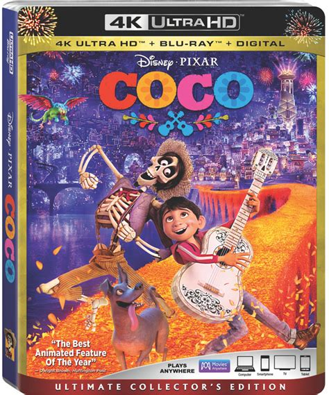 Bluray Ori Original Warrior 4k Uhd pixar s coco 4k uhd and digital release date and details thehdroom