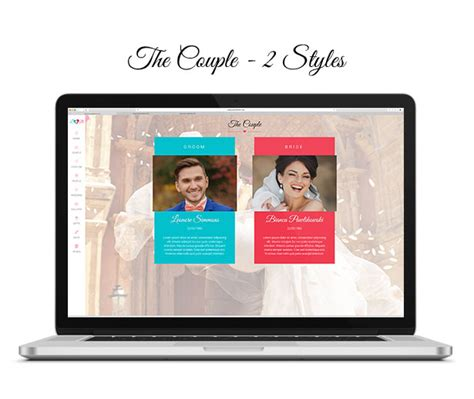themeforest navbar lovebirds responsive wedding html template by lithemes