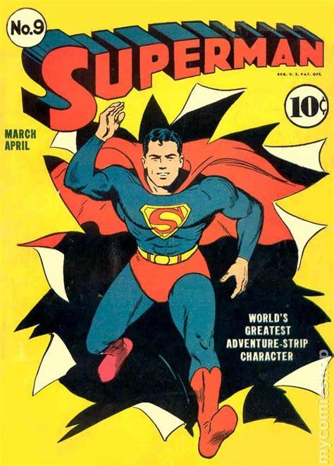 superman comic book pictures superman 1939 1st series comic books