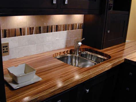 Premium Wide Plank Wood Gallery Brooks Custom Wood Countertops Kitchen
