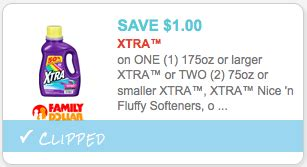 printable xtra coupons new 1 xtra laundry detergent coupon only 0 99 at cvs